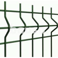 Segmentinė tvora, žalia, 2500 x 1230 mm (5,0 mm)