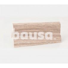 PVC grindjuostė KORNER (LP-60), Satino ąžuolas/201