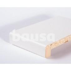 Balta MDF palangė LAMINTEX 1600 mm