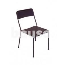 Metalinė sodo kėdė, 52 x 53 x 80 cm, juoda