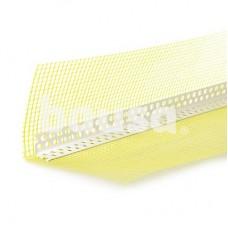 PVC kampas su tinkleliu 10 x 15 cm