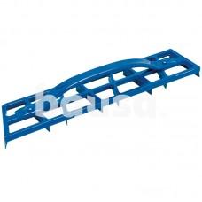 Drožtuvas aliuminis gipsiniam tinkui, 460x85 mm su 8 plieno ašmenimis, KAUFMANN 25.110.01