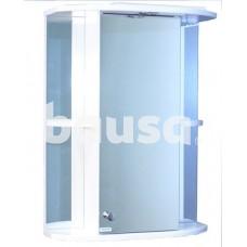 Vonios spintelė AQUALINE 50, su veidrodžiu