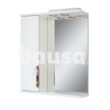 Vonios spintelė AQUALINE Premium plius, su veidrodžiu