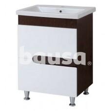Vonios spintelė AQUALINE Premium Lux, su praustuvu