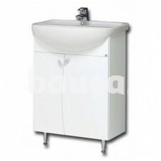 Vonios spintelė RB BATHROOM Elza EA60-3/P, su praustuvu
