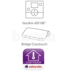 Priedas valdymui mobiliuoju telefonu per Wi-Fi Bridge Cozytouch ir patalpos termostatas Navilink A59 INTER (komplektas)
