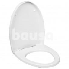 WC dangtis OVO su soft close sistema, baltas