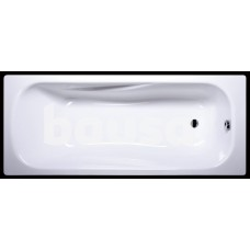 Akmens masės vonia Classica 1800x750 mm, su skylėm maišytuvui, balta