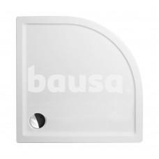 Dušo padėklas FLAT ROUND 800x800 mm, baltas