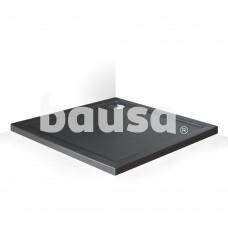 Dušo padėklas Flat Stone Effect 100x80x5 cm, antracito spalva