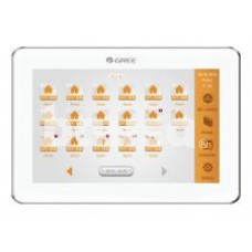 Centrinis pultas su lietimui jautriu ekranu prie GMV (255v.d.) ir U-Match (36v.d.) iki 16 sistemų
