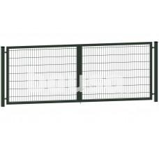 Segmentiniai vartai 4000 x 1730 mm, RAL6005