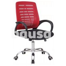 Pasukama biuro kėdė VANGALOO DM8101, raudona/juoda