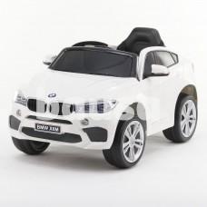 Originalus baltas elektromobilis BMW X6M 2199 su nuotolinio valdymo pultu (WDJJ2199)