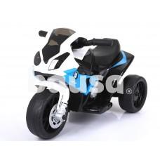 Triratis vaikiškas mėlynas motociklas BMW S1000R/ JT5188 (WDJT5188)