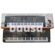 Elektrinis sintezatorius su mikrofonu ir krovikliu MS6101