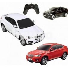 Radijo bangomis valdomas automodelis RASTAR BMW X6 1:24