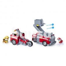 Žaislinis transformuojamas policijos automobilis PAW PATROL 2in1