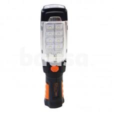 Pastatomas žibintuvėlis 10 + 6 LED