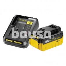 Baterija ir įkroviklis 18 V SFM 4,0 Ah