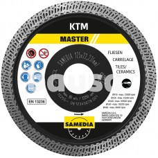 """Deim. d. """"SAMEDIA"""" KTM 125x22,2/1,4 mm X-Lock"""