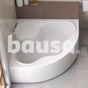 Akrilinė kampinė vonia Ravak Gentiana, 140x140