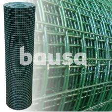 Suvirintas tinklas, 1,1 x 19 x 19 x 1000 mm, žalias