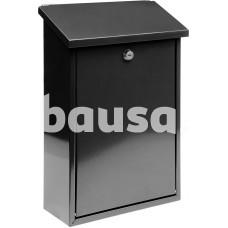 Dėžutė pašto juoda 400x250x100 mm VOREL 78570