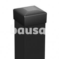 Stulpas, 50 x 50 x 2000 mm, juodas