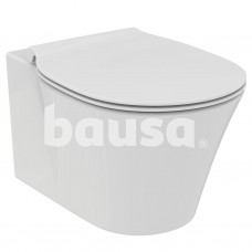 WC pakabinamas Ideal Standard Connect, Air Rimless, su paslėptais tvirtinimais