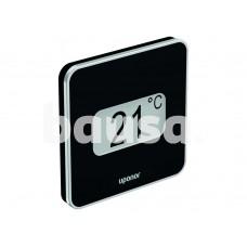 Šildomų grindų automatika Uponor Smatrix Pulse, Termostatas D+RH Style T-169 juodas
