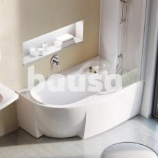 Akrilinė asimetriška vonia Ravak Rosa 95, 160x95 R