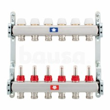 Šildymo sistemos kolektorius ITAP, reguliuojamas, su debitomačiais, 12 žiedų
