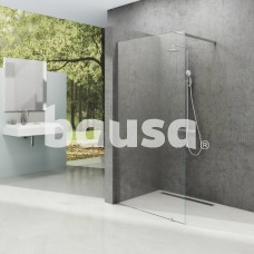 Dušo kabina Ravak Walk-in Wall, 100x200 bright alu+Transparent
