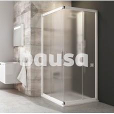 Kvadratinė dušo kabina Ravak Blix, BLRV2-80, balta+stiklas Grape