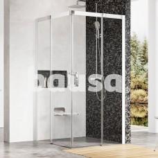 Dušo kabina Ravak Matrix, MSRV4-90/90, balta+Transparent