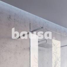 Montavimo rinkinys dušo kabinoms ir sienelėms RAVAK Brilliant ir Walk-In, W SET, 100 Wall/Corner Aliuminis