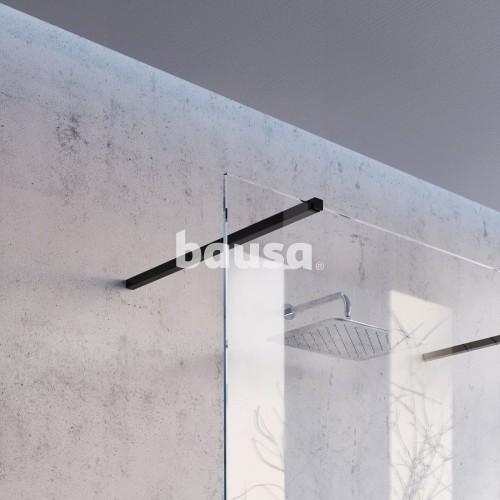 Montavimo rinkinys dušo kabinoms ir sienelėms Ravak Brilliant ir Walk-In, W SET, 90 Wall/Corner Juoda