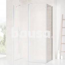 Stacionari sienelė Ravak Chrome, CPS-100, satinas+stiklas Transparent