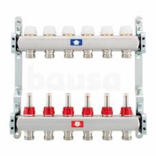 Šildymo sistemos kolektorius ITAP, reguliuojamas, su debitomačiais, 6 žiedų