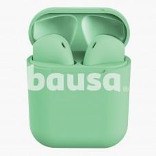 InPods 12 Bluetooth belaidės ausinės, žalios