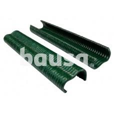 Sąvaržos tinklo tvirtinimui, žalios, 20 mm, 200 vnt.