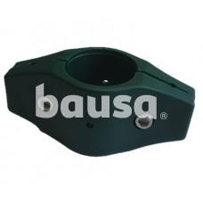 Tiesi stulpo apkaba 38 mm, žalia, plastikinė