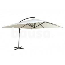Sodo skėtis 300 x 300 cm, baltas