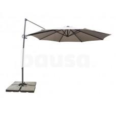 Sodo skėtis DOMOLETTI Square Grey, 300 x 300 cm