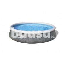 Pripučiamas baseinas su filtru BESTWAY Fast Set Rattan, 396 x 84 cm