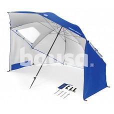 Paplūdimio skėtis SPORT-BRELLA, mėlynas