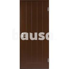 Plieninės įėjimo durys su stakta BASIC B0010