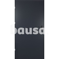Plieninės durys URAN 890 x 2090 dešinės, antracito spalvos